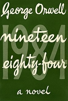 1984, nineteen eighty-four, orwell, book