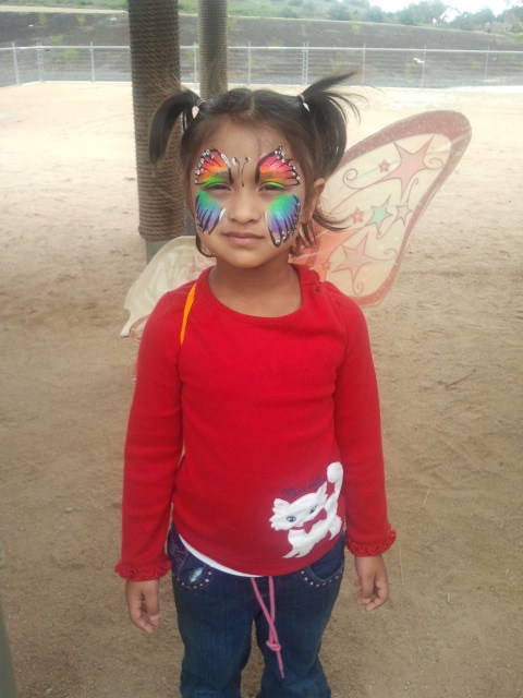 Facepainting is always a popular fundraiser