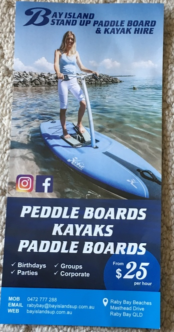 Courtesy of Bay Island SUP Board and Kayak Hire