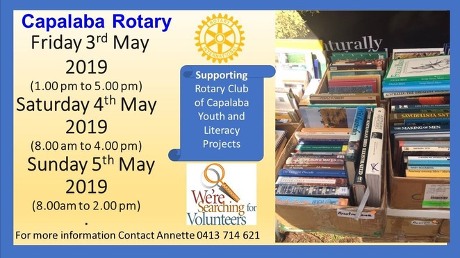 Courtesy of Rotary Club Capalaba FB
