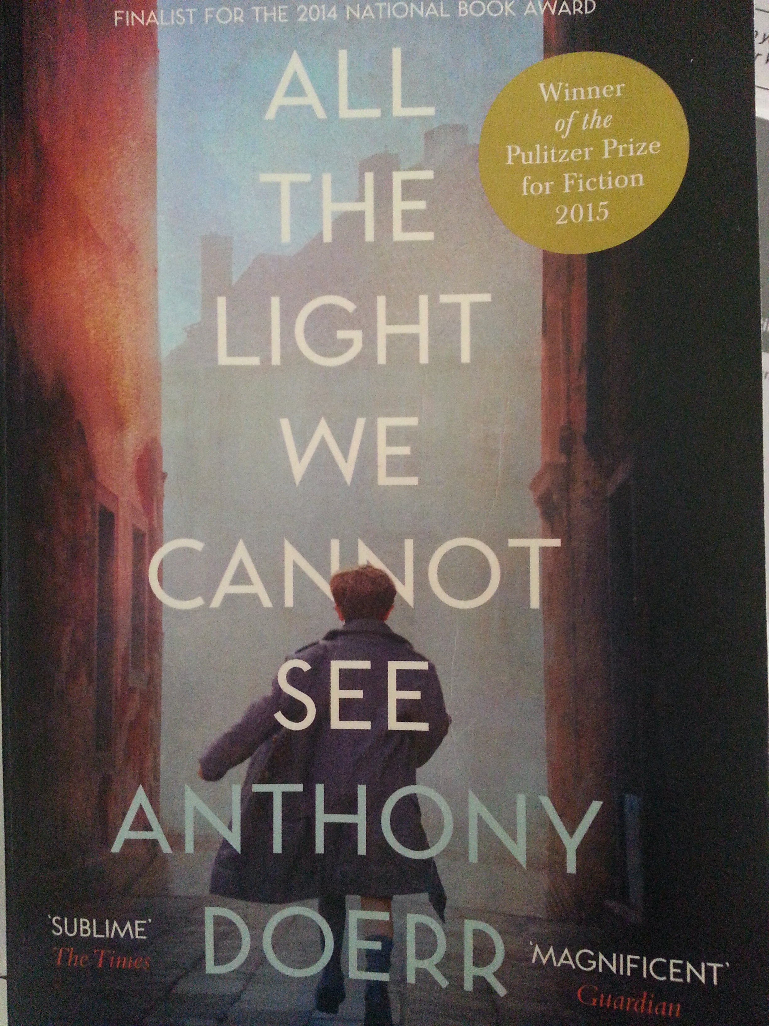 All The Light We Cannot See,anthony Doerr,weekend Notes Book Review