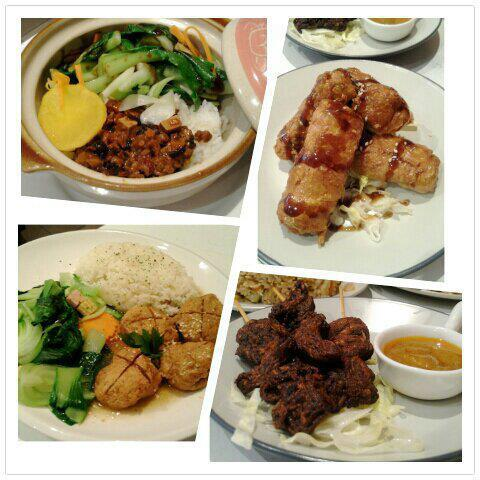 Variety of Asian dishes