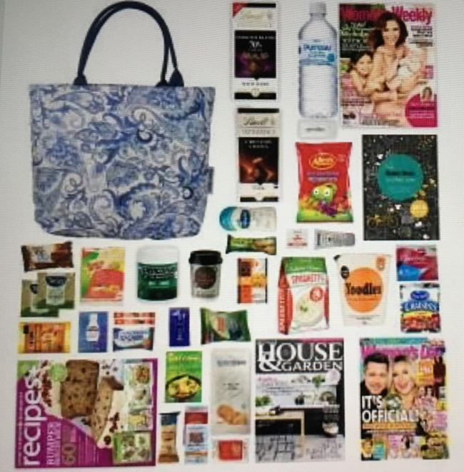 Australian Women's Weekly Showbag, Sydney Royal Easter Show, Showbags, Easter, Women's Weekly, Women's Day magazine