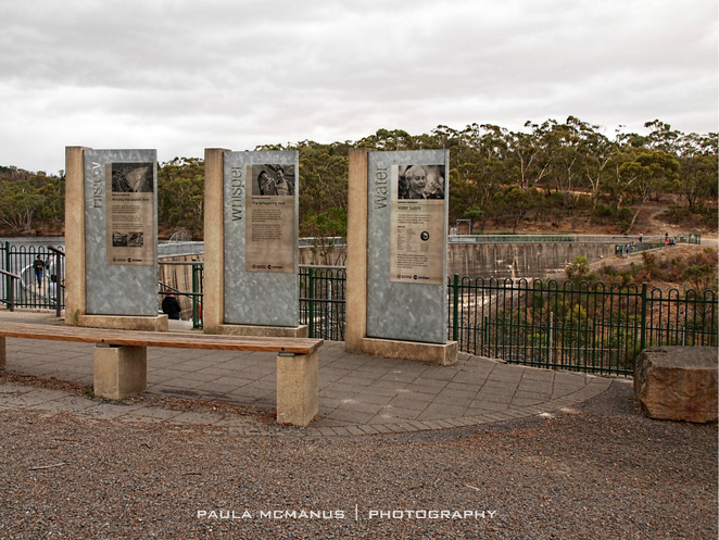 barossa reservoir whispering wall