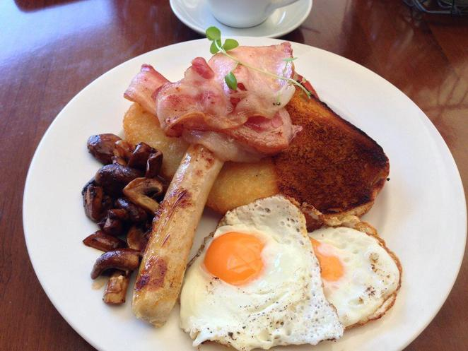 Big breakfast, The Paddock, Mooloolaba, Entice
