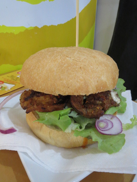 Burger It, Chicken Tikka Burger, Adelaide