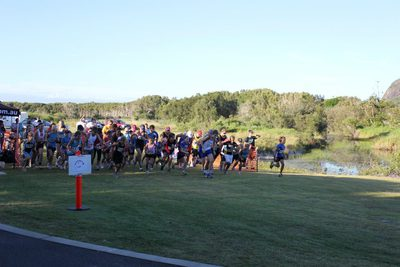 Can you get ahead of the pack/Image from Sunshine Coast Run Series