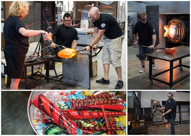 canberra glassworks, canberra, ACT, tourist attractions, hot shop, glass art, ACT, kingston power house,
