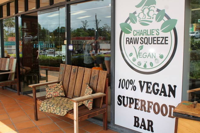 charlies raw squeeze kenmore doughnuts smoothies vegan superfoods coffee organic