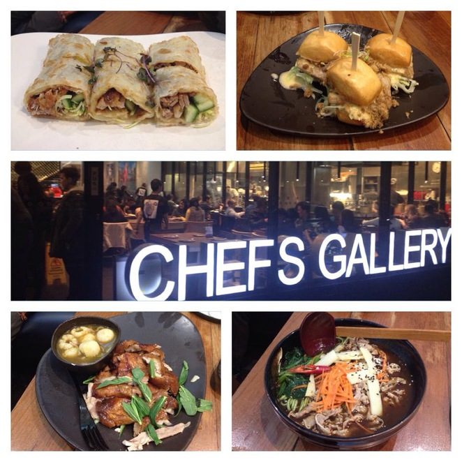 Chefs gallery, sydney, restaurants, cbd, dinner
