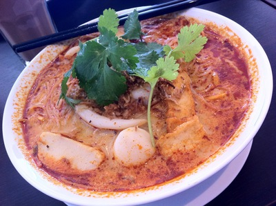 Combination mamak laksa little chilli padi