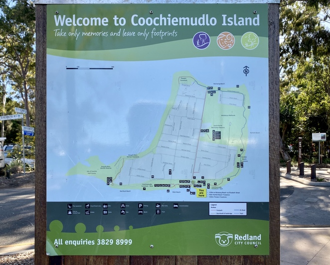Coochie, with its beautiful beaches, wildlife, and visitor friendly sign-posting sits just waiting to be explored by land or sea