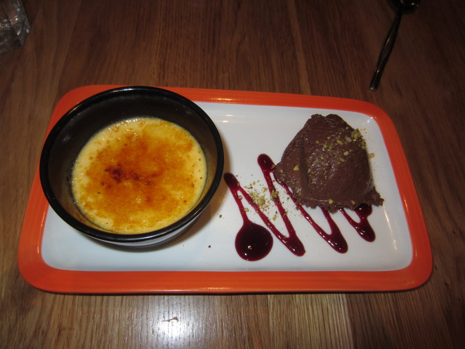 creme brulee Hux Grill