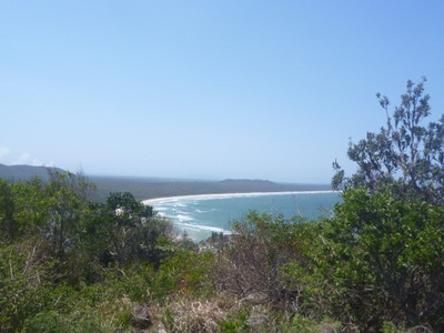 crescent head, lookout