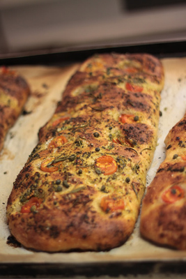 The Foccacia Loaf