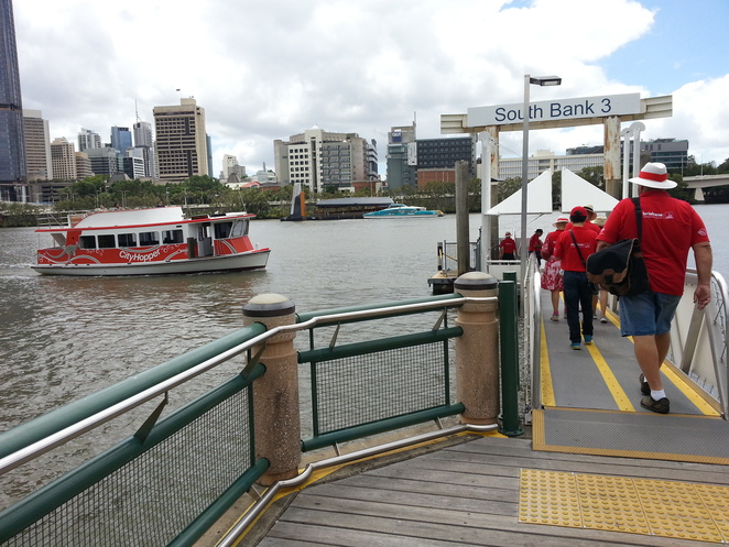 Free City Hopper Ferry,Southbank terminal 3