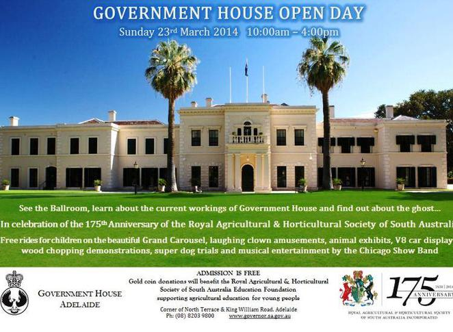 government house open day, government house, adelaide