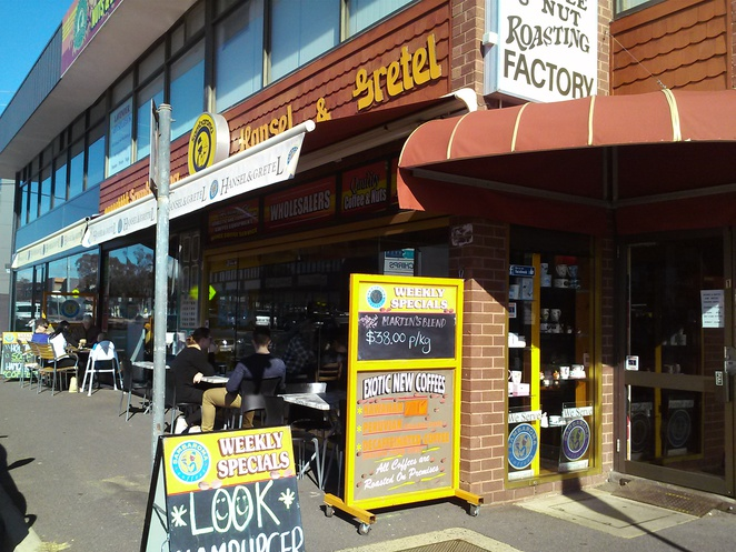 Hansel and Gretal Cafe, Phillip, Woden, ACT