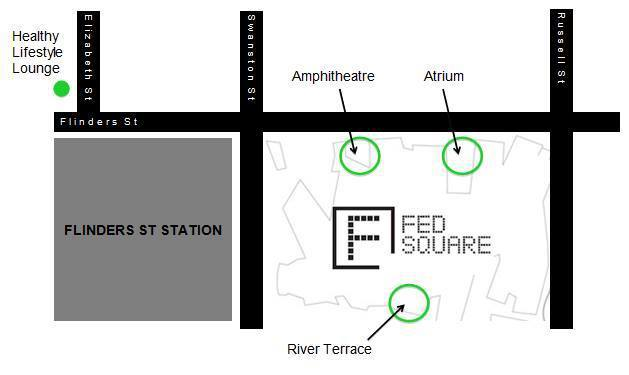 healthy lifestyle lounge fitness class location map