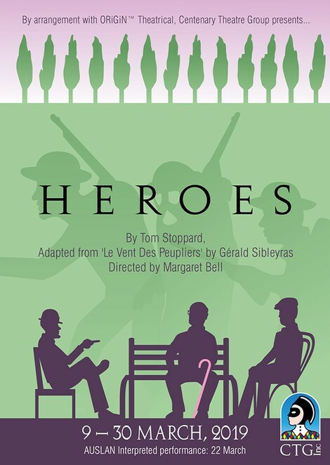 Heroes, Centenary Theatre Group, Chelmer