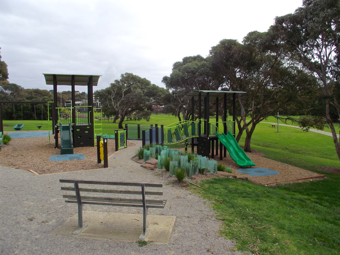 jan juc, Jan Juc creek, playground, park, grass, torquay,