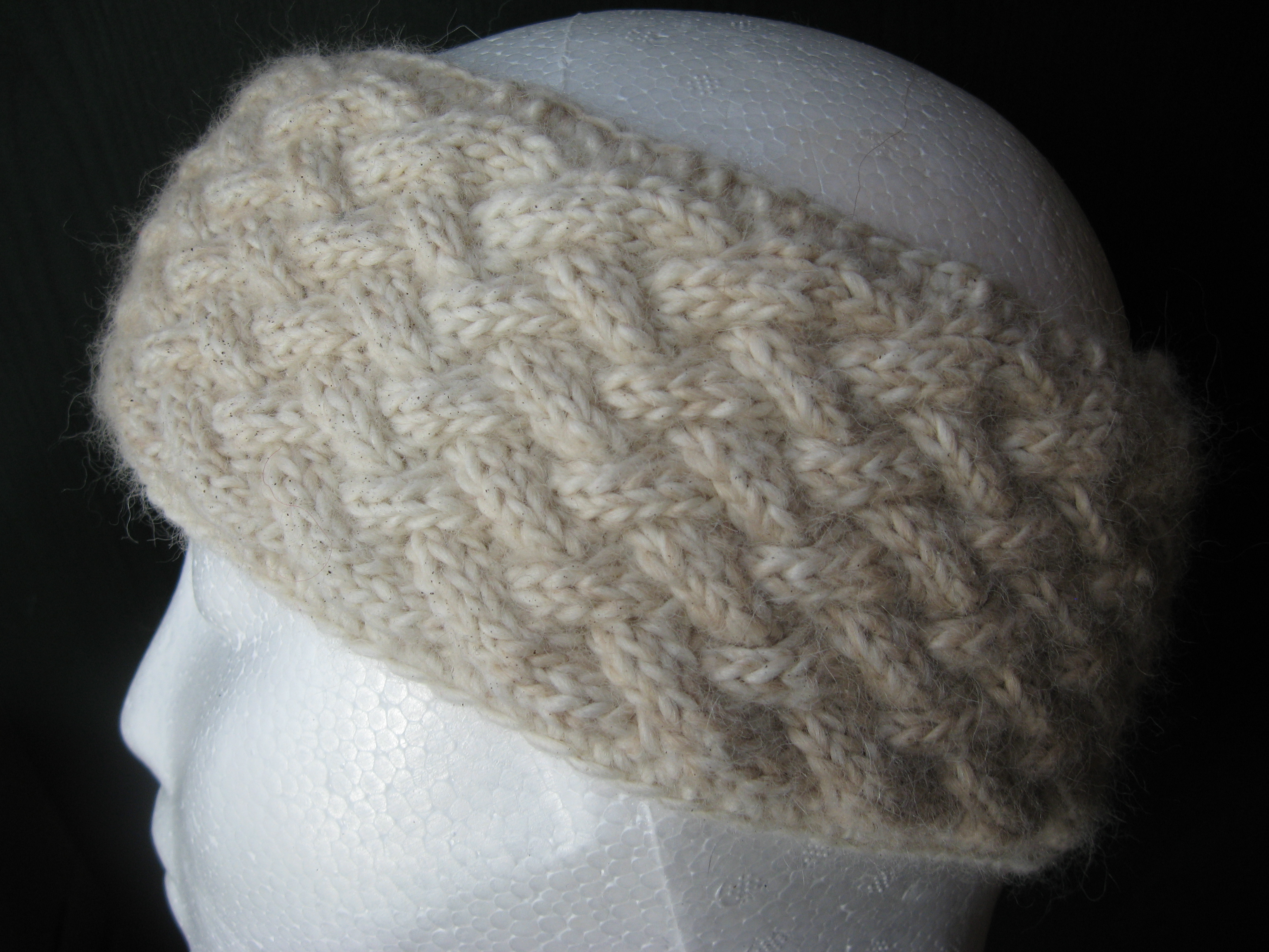 Alpaca Headband Knitting Pattern : Kitchener-Waterloo Knitters Fair 2015 - Toronto