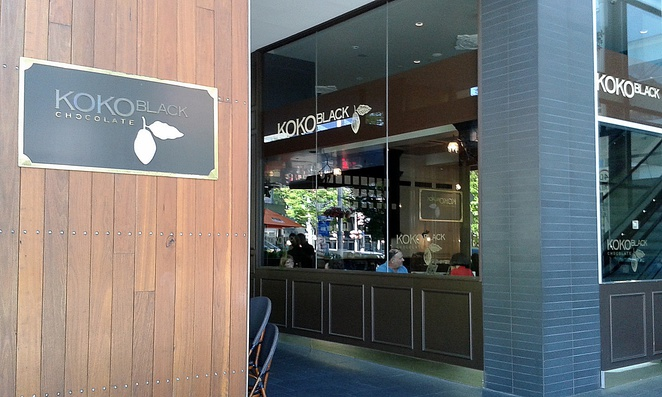 koko black, canberra, bunda street, ACT, dessert cafes, chocolate cafe, teenagers, families,
