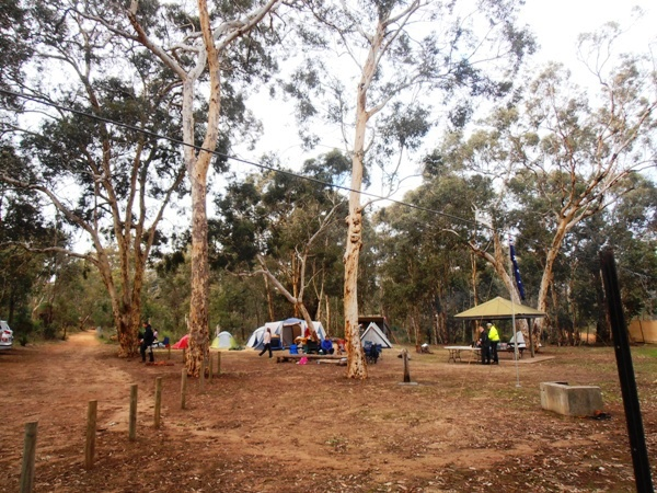 Campground at Lake Laschenaultia