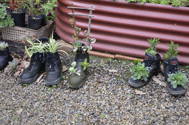 Might leave the wellies at the door while you shop for antiques