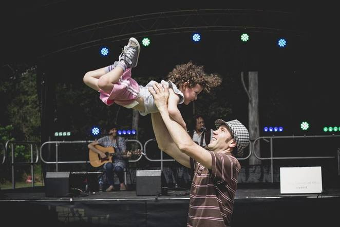MooFest 2017, Mooloolah Recreation Reserve, Mooloolah, Fusion Australia, Sunny Coast youth, family-friendly day out, wholesome live music, kids activities, gold coin donation, Fat Picnic, The Baker Boys Band, The Updraft Imperative, Nickleby the Magician, Kids Zone games, market stalls, jumping castle, buskers, face painting, bands, artists, Fusion bus, photo booth, animal farm, landcare workshops, Slackline performers, live wood carving, fireworks, drug and alcohol free event