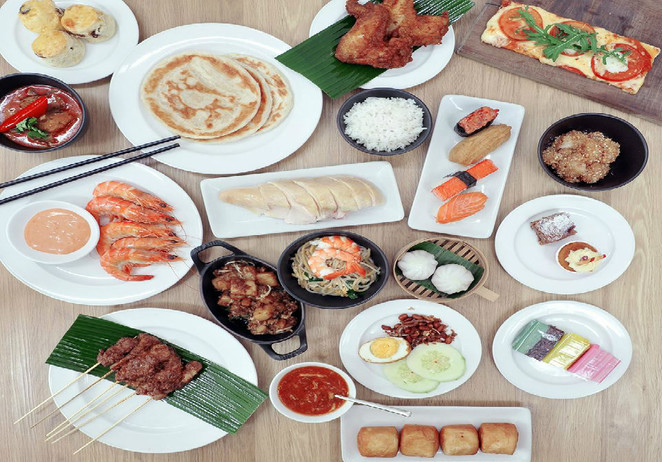 NDP, SG51,marriott cafe, marriott singapore, National day buffet, free buffet, NDP2016, Singapore buffet