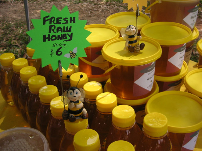 organic honey, bees, soaps, health products, local market, local honey