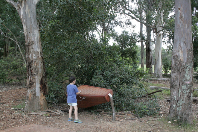 Parramatta Park's Domain Creek Playground