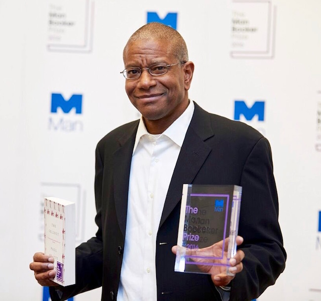 Paul Beatty, Man Booker, prize, literature, author, trophy
