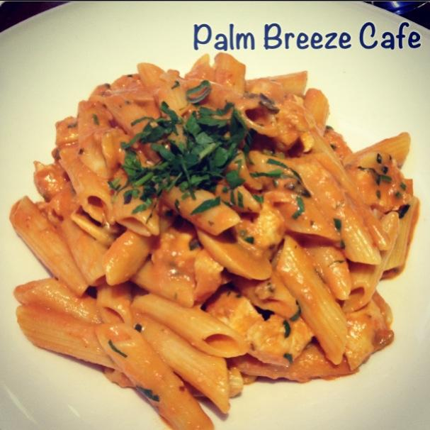 penne, chicken, pasta, delicious, yummy, food, night out, cafe, burwood