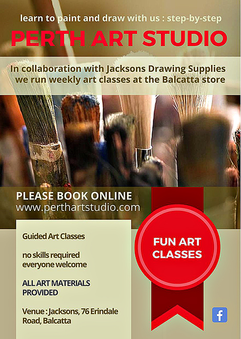Perth Art Studio, Gail Dell, Gabriela Himstedt, Art Classes
