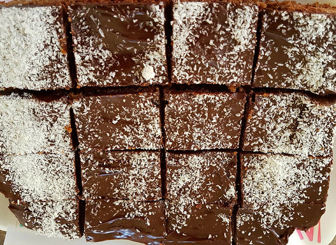 Perth Homeless Support Group Bake Sale Event. Chocolate Brownies.