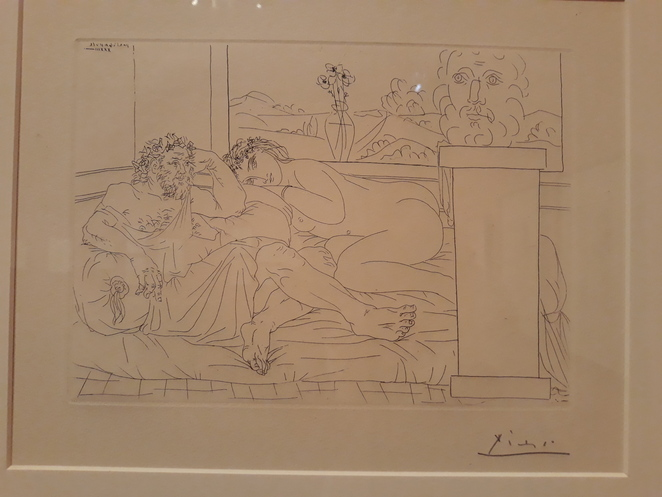 Picasso, the vollard suite, SA art gallery,