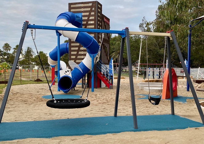 All parks need a great swing set!