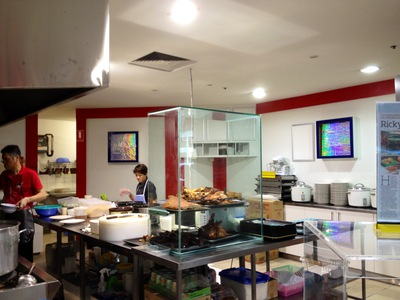 ricky's kitchen southern cross arcade adelaide rundle mall
