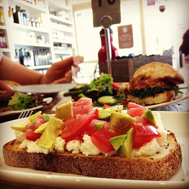 scrummies, food, deli, cafe, coffee, oatley, sourdough, avocado, tomato, ricotta, toasted, weight watchers, menu, clean eating