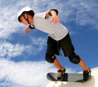 Skateboarding clinics, competitions, Easter Holidays