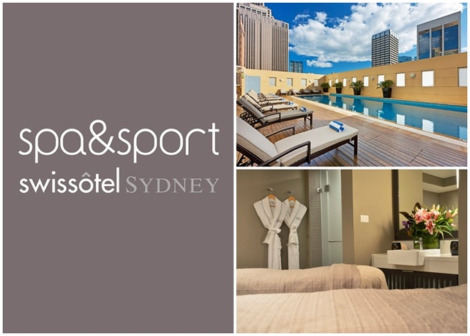 spa and sport, swissotel sydney, hotel, spa, luxury, pool, swimming pool, hotel near state theatre, sydney CBD, 5 star, best hotel, families, spa treatments,