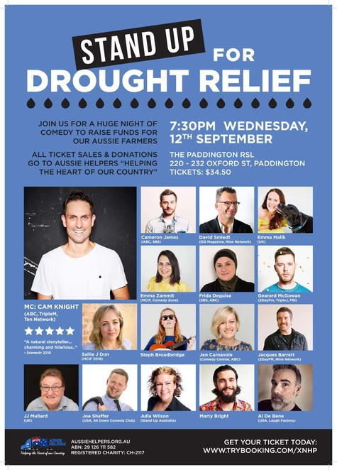 stand up for drought relief