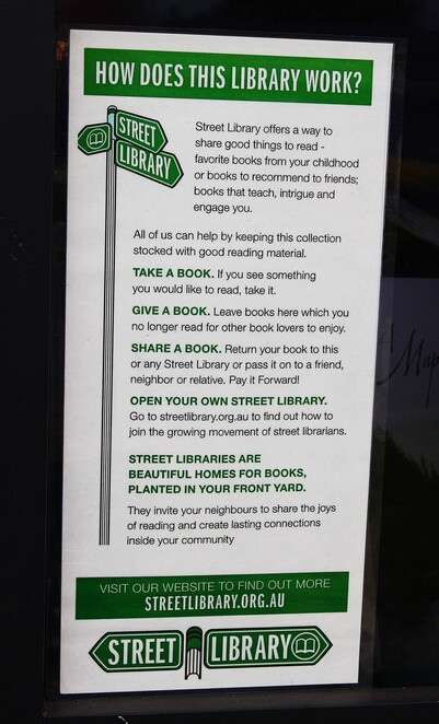 Street library rules