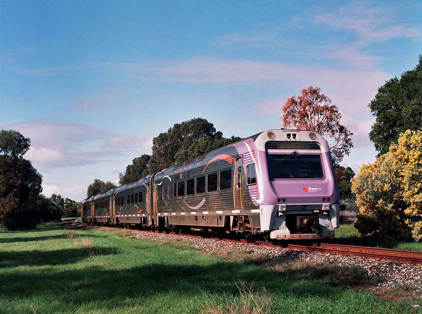 The Australind Goes Platinum at the South West Rail and Heritage