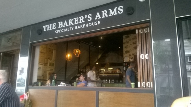 The Baker's Arms, Cafe, Bake House, Bakery, Eat, Woolloongabba