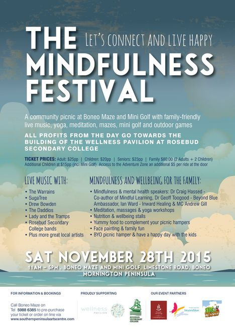 The Mindfulness Festival at Boneo Maze