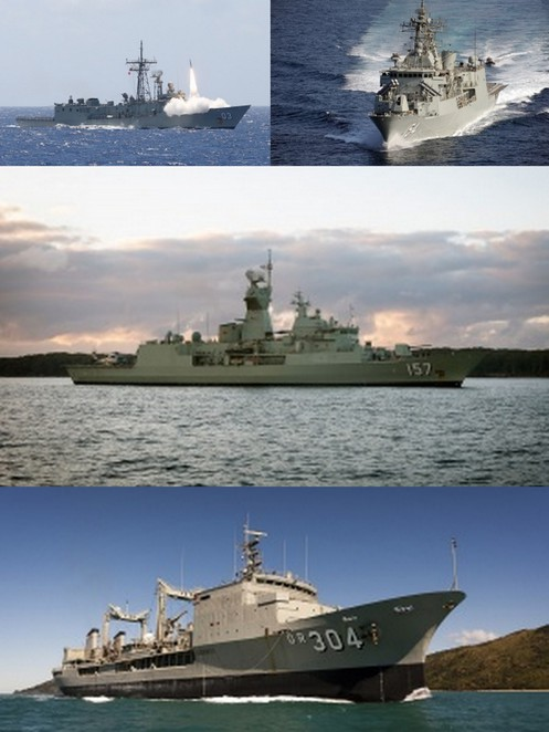 War Ships, HMAS, Navy, International fleet review, IFR