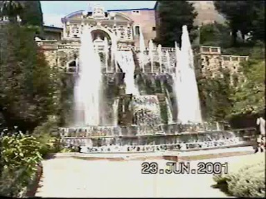 Water Everywhere at the Villa D'Este